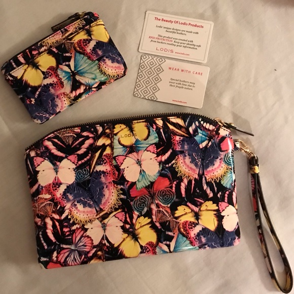 LODIS Handbags - LODIS Leather Wristlet and Wallet, RFID Protection